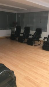 sala de espera limpieza de colon